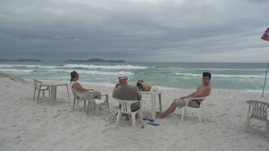 Praia do foguete - pousada Laguna