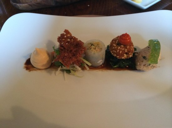 The Yorke Arms: Crab