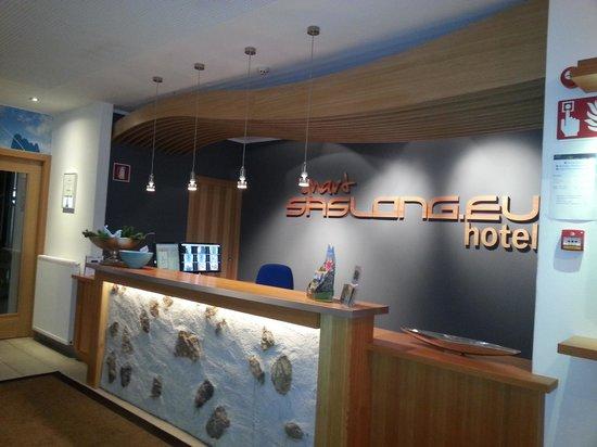 Smart Hotel Saslong: reception