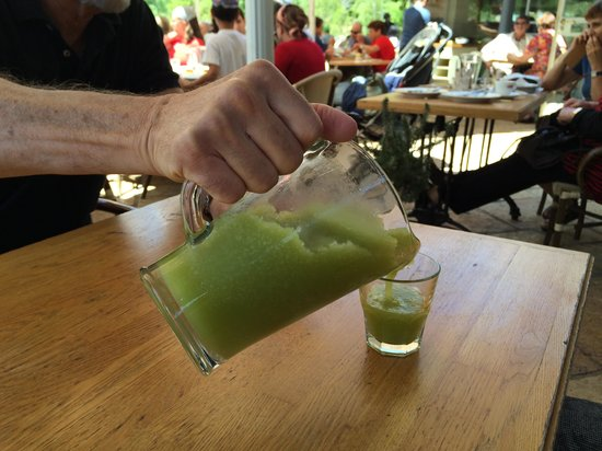 Jerusalem Botanical Gardens: Our Drink