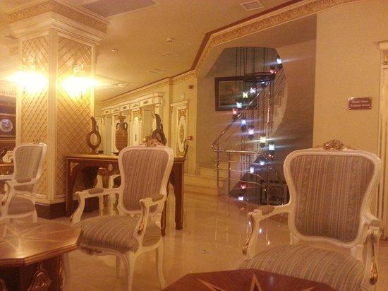 Ottoman Palace Taksim Square Hotel: le lounge