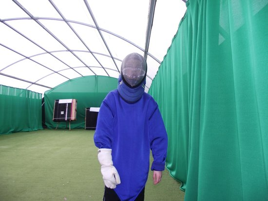 Thorpe Park Holiday Park - Haven: Dressed for Fencing