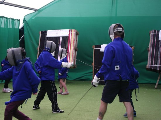 Thorpe Park Holiday Park - Haven: Kids Enjoying Their Supervised Fencing Lesson