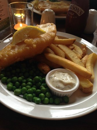 The Lorne Bar: Haddock and chips