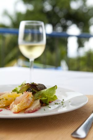 Mille Fleurs Restaurant: Smoked Marlin