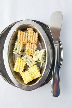 Mille Fleurs Restaurant : Flavoured Butters