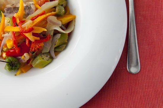 Mille Fleurs Restaurant : Jamaican Sytle Steamed Fish