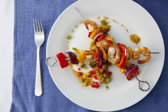 Mille Fleurs Restaurant : Shrimp Kebabs