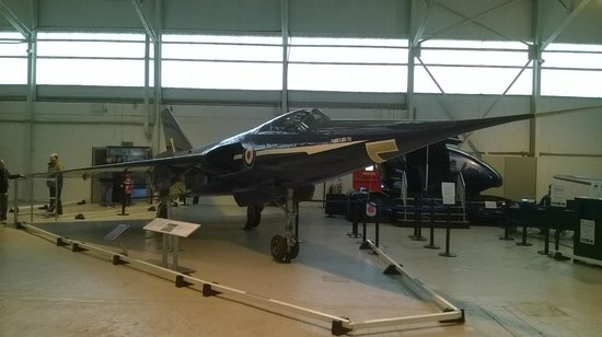 Royal Air Force Museum Cosford: Fairey Delta 2: took the world speed record for UK