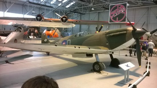 Royal Air Force Museum : WWII Hanger earliest surviving Spifite