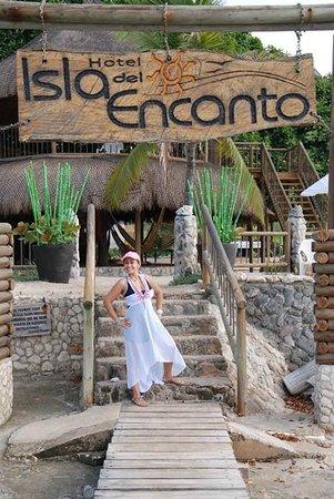 Hotel Isla del Encanto: A la entrada
