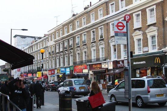 London House Hotel : Neighborhood