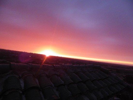 Kasbah Jad Auberge : Sunset From Rooms on jad auberge