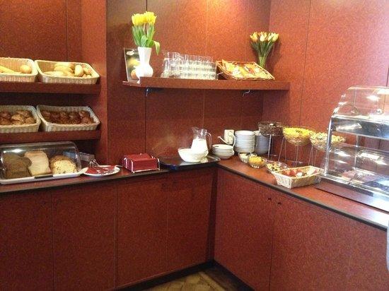 Hotel Aalders: parte del buffet