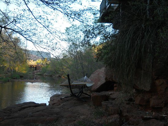 The Inn Above Oak Creek : Loved the hammock!
