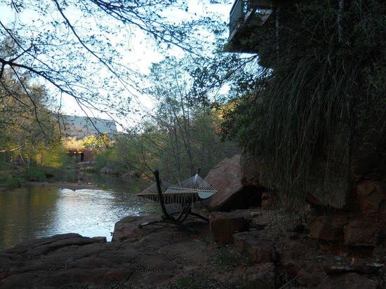 The Inn Above Oak Creek: Loved the hammock!