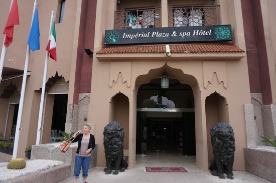 Imperial Plaza Hotel: entree de l'hotel