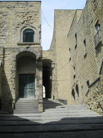 Castel dell'Ovo : Interior of catsle