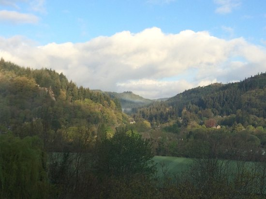 Maes-y-Garth: The view from our bedroom!