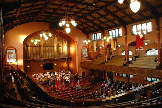 First Baptist Church: Sanctuary Was Once Burned Out To Just The Shell