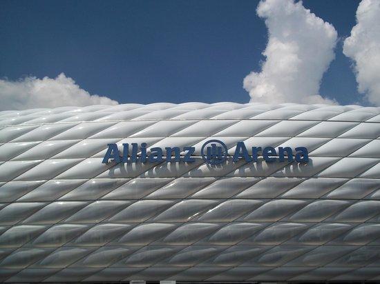 Allianz Arena: vue extérieure