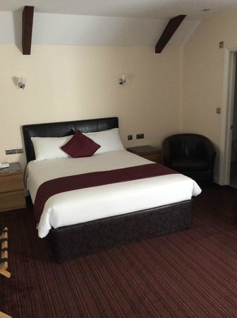 Spilman Hotel: Double bed in the Executive Room