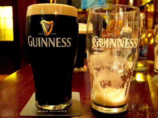 O'Neill's Bar and Restaurant : Guinness en O'Neills