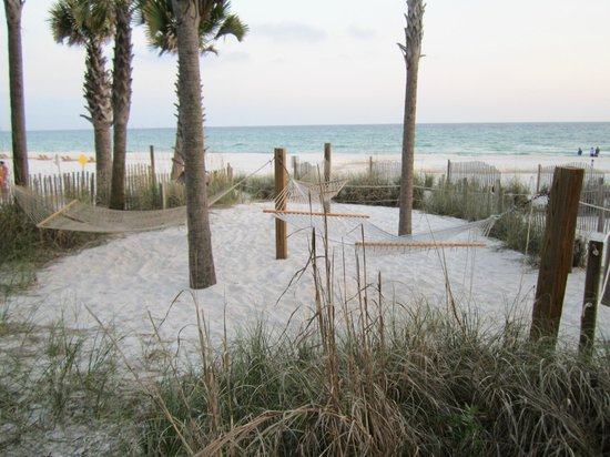 The Sandpiper Beacon Beach Resort : 3 of 6 Hammocks