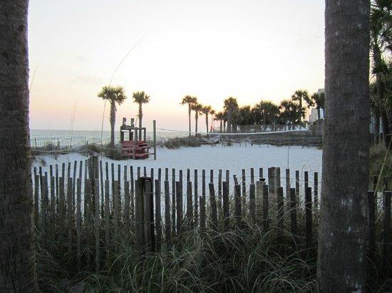 The Sandpiper Beacon Beach Resort : Volley Ball court