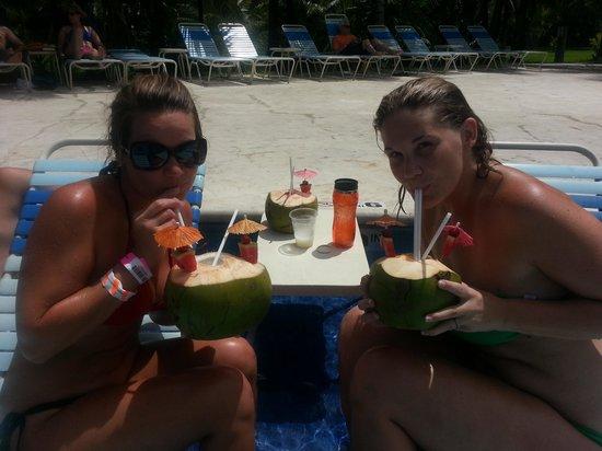 Paradise Beach: Great drinks!