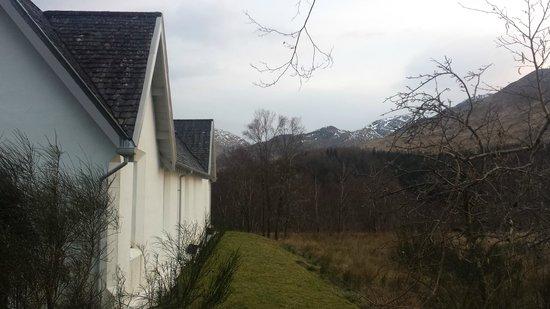 Craigag Lodge: mountains all around