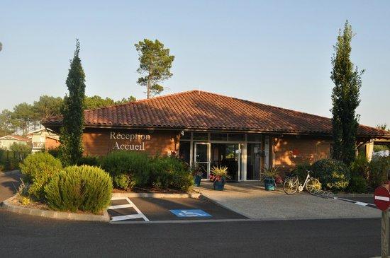 Les Cottages du Lac: Réception