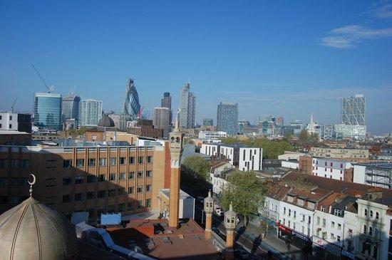 Hotel ibis budget London Whitechapel - Brick Lane : vue du 7éme étage