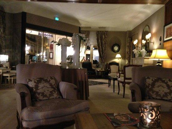 Hotel Claridge : Reception