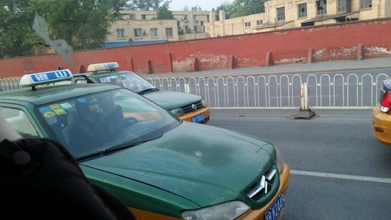 Grand Hyatt Beijing: Beijing taxi real and fake