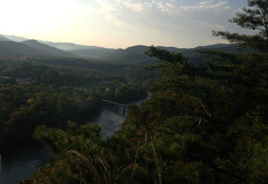 Creek Ridge Camping: French Broad River Hot Springs,NC