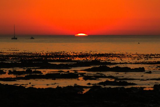 Radisson Blu Hotel Waterfront, Cape Town: Закат
