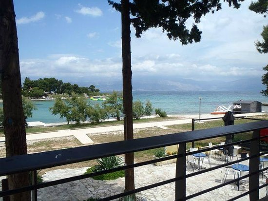 Waterman Svpetrvs Resort : Widok z tarasu restauracji