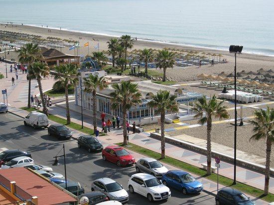 Sol Don Marco: View from balcony of sea and beach.