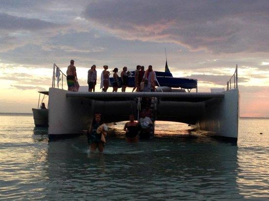 Hotel Riu Palace Tropical Bay: Sunset cruise