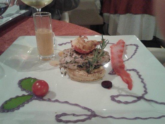 La Table d'Emilie: tournedos de veau et homard