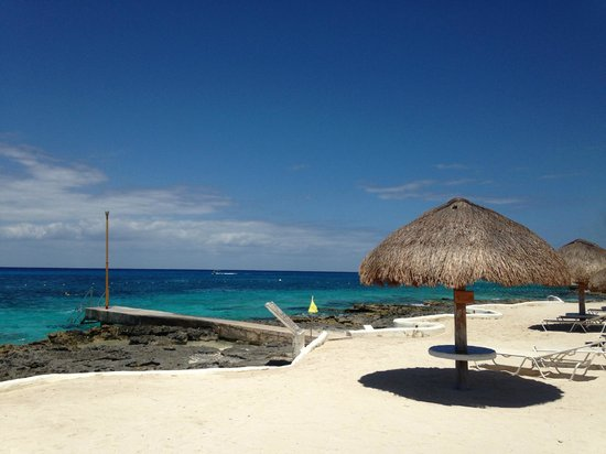 Presidente Inter-Continental Cozumel Resort & Spa: One of the many snorkeling piers at the hotel