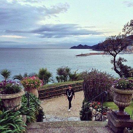 Hotel Continental : Невероятной красоты сад