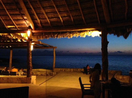 Presidente Inter-Continental Cozumel Resort & Spa: View from dinner