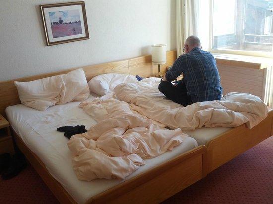 Golf-& Sport Hotel Hof Maran: Die Betten waren bequem