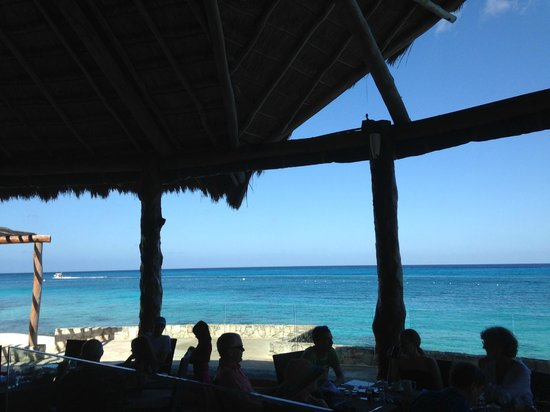 Presidente Inter-Continental Cozumel Resort & Spa: View from breakfast buffet