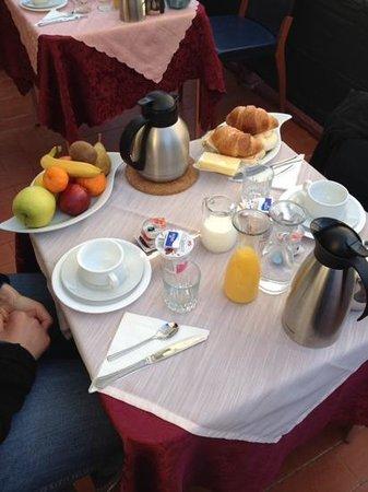 Angeles Inn: la colazione