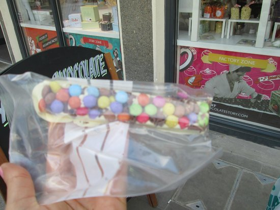 York's Chocolate Story: Homemade Chocolate Bar :)