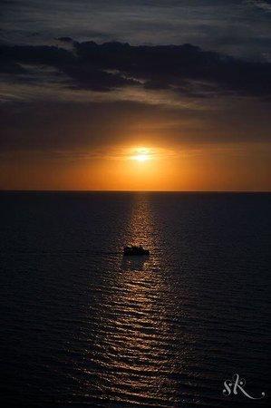 Hyatt Regency Clearwater Beach Resort & Spa: Watching the sunset
