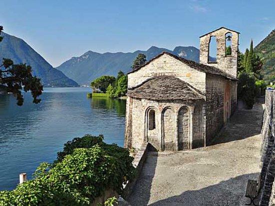 Il Montesino Bed and Breakfast: Una delle numerose chiese romaniche sul lago di Como